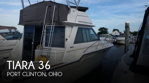 Used Fishing boats For Sale in Ohio by owner | 1988 Tiara 36