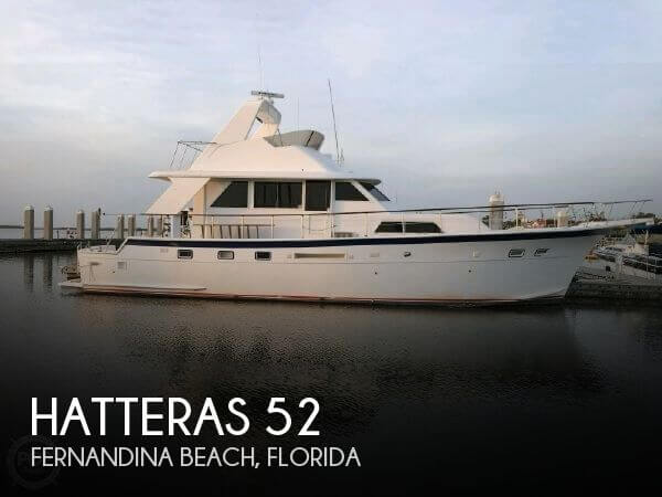 Used Boats For Sale in Jacksonville, Florida by owner | 1981 Hatteras 52