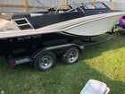 2014 Glastron 225 GT With Matching Trailer