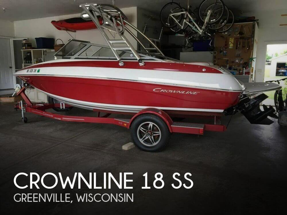 Used Boats For Sale in Wausau, Wisconsin by owner | 2013 Crownline 18
