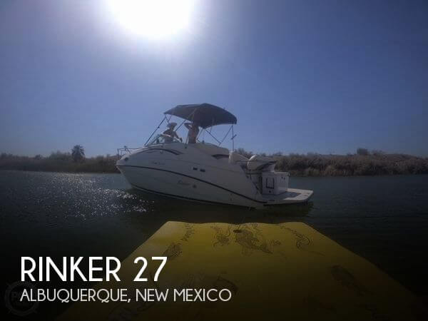 Used Boats For Sale in Albuquerque, New Mexico by owner | 1999 Rinker 27