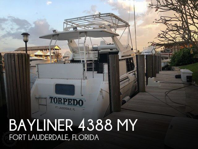 Used Bayliner Boats For Sale in Florida by owner | 1991 Bayliner 4388 MY
