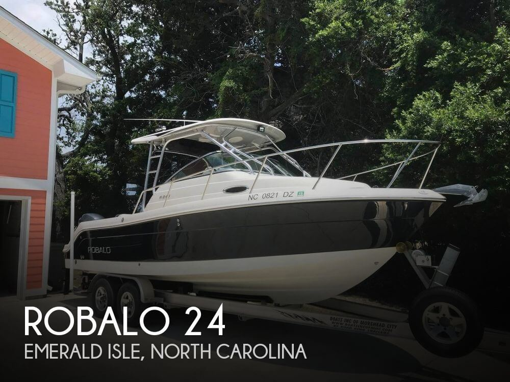 Used Boats For Sale in Wilmington, North Carolina by owner   2008 Robalo 24
