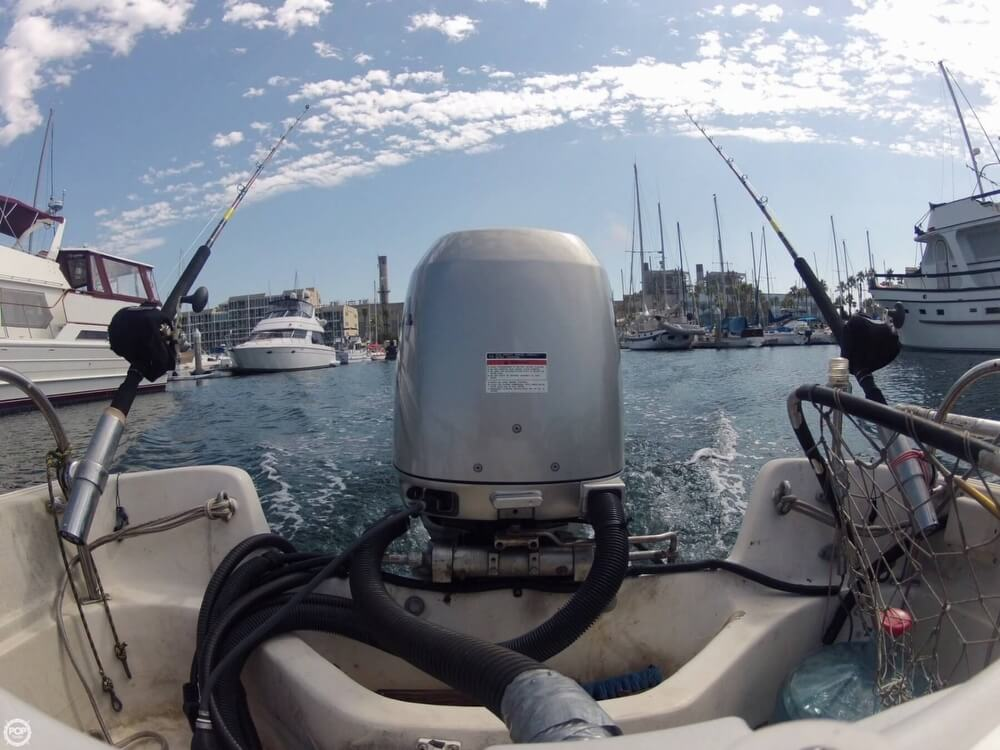 1986 Boston Whaler boat for sale, model of the boat is 17 Montauk & Image # 6 of 40