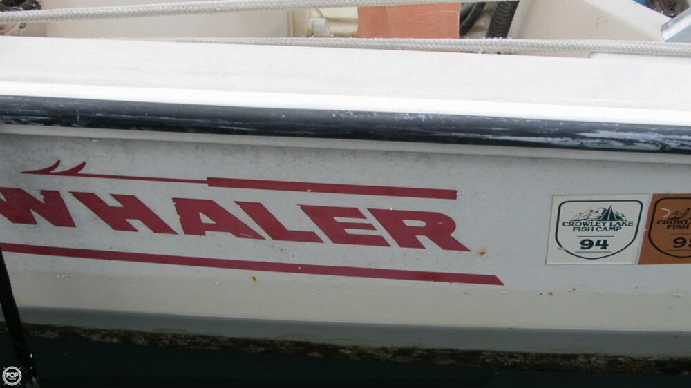 1986 Boston Whaler boat for sale, model of the boat is 17 Montauk & Image # 27 of 40
