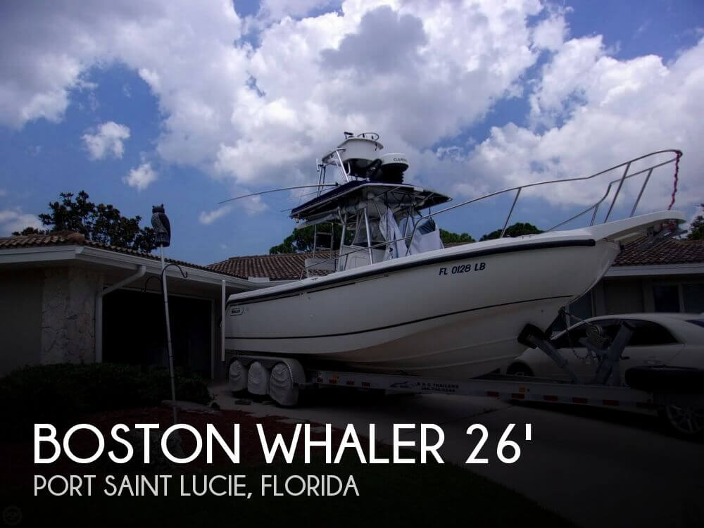 1999 26 foot Boston Whaler Outrage - image 1