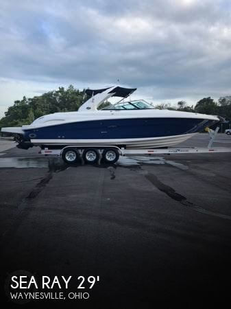 Used Boats For Sale in Cincinnati, Ohio by owner | 2007 Sea Ray 29