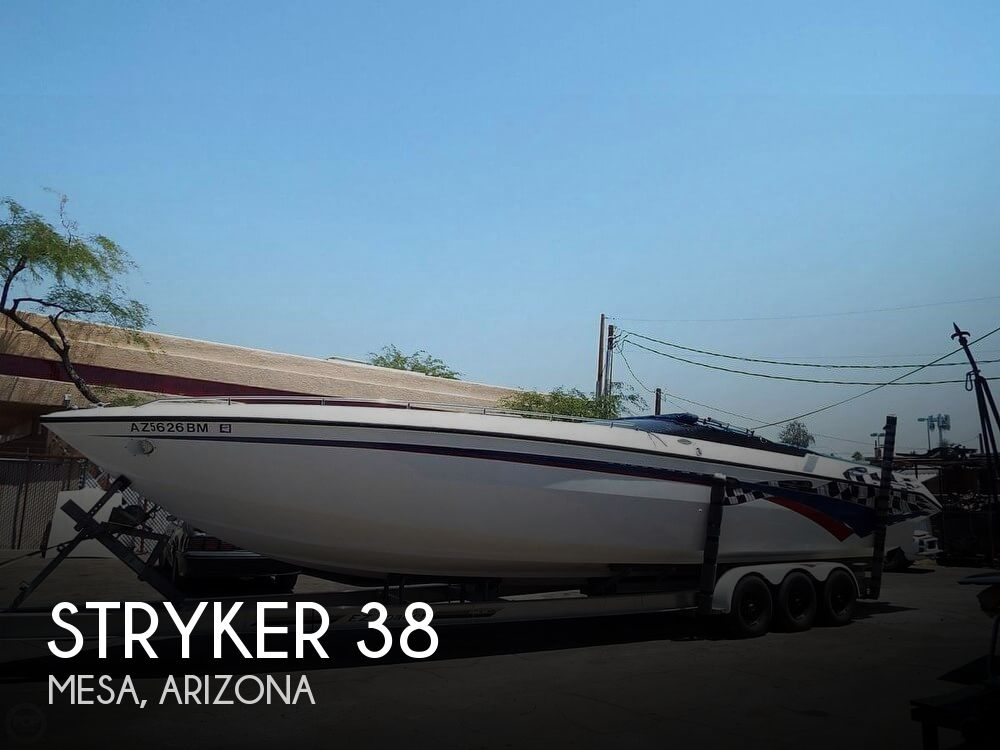 Used Stryker Boats For Sale by owner   1993 Stryker 38