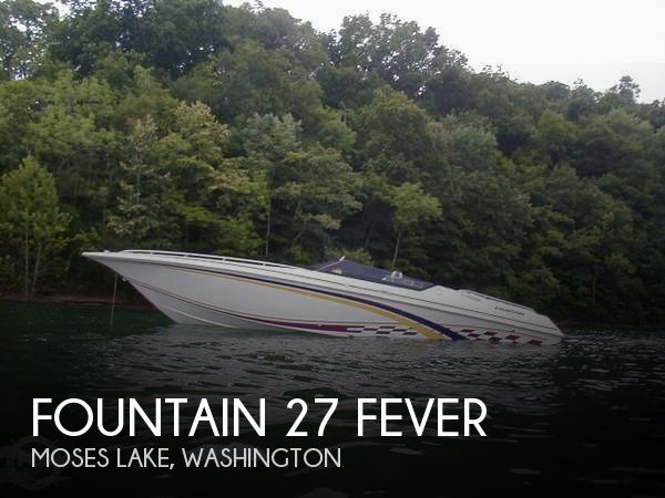 Used High Performance Boats For Sale in Washington by owner | 1998 Fountain 27