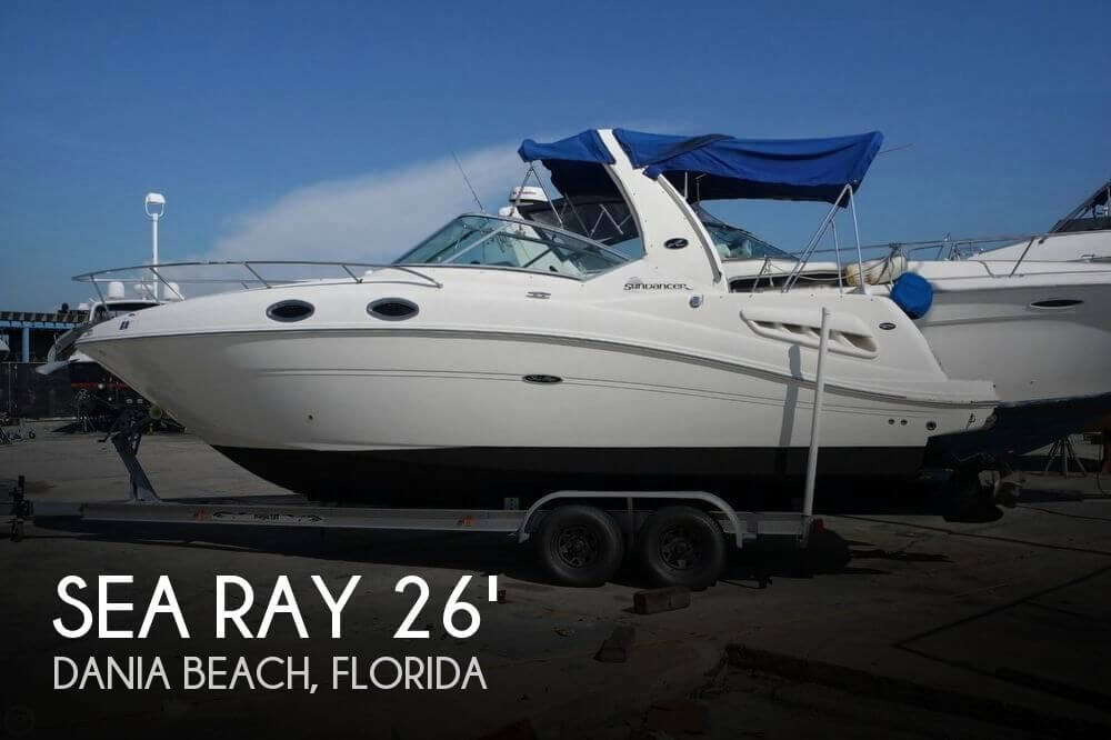 Used Boats For Sale by owner | 2005 Sea Ray 260 Sundancer