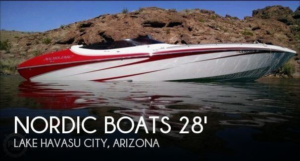 2012 Nordic Tugs boat for sale, model of the boat is Heat Mid-Cabin Open Bow 28 & Image # 1 of 40