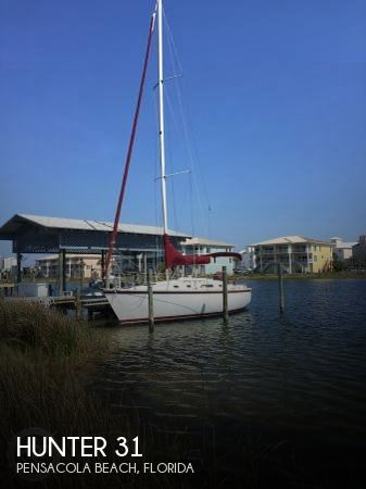 Used Hunter Sailboats For Sale in Florida by owner | 1986 Hunter 31