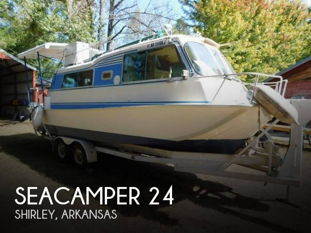 Used Houseboats For Sale in Arkansas by owner | 1978 Seacamper 24