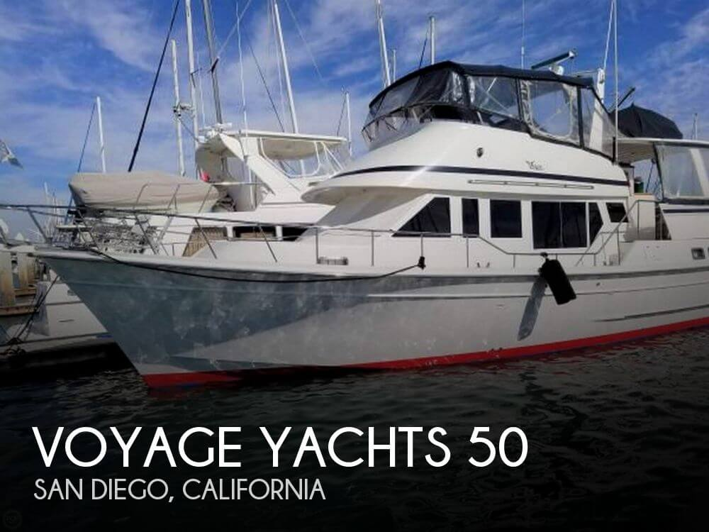 Used Boats For Sale in San Diego, California by owner | 1990 Voyage Yachts 50