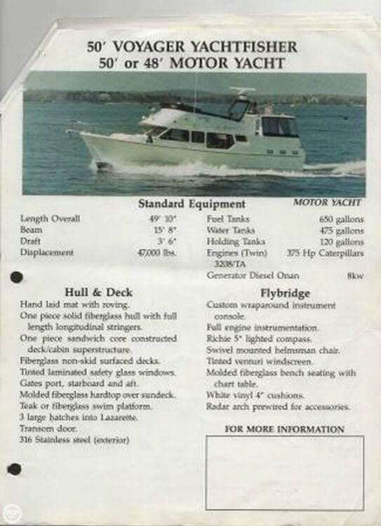 1990 Voyage Yachts 50 - image 14