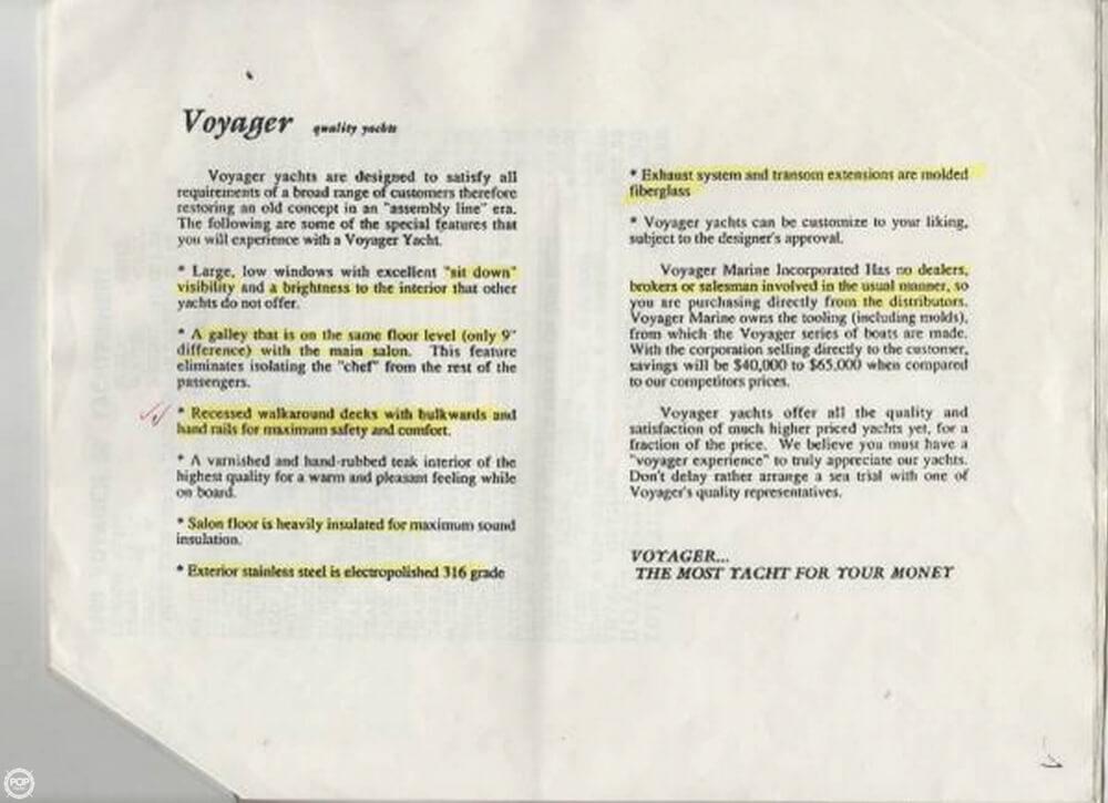 1990 Voyage Yachts 50 - image 17