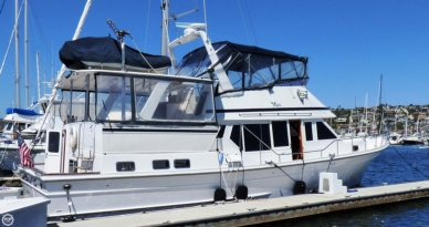 Voyager 50 Aft Cabin Yachtfisher, 49', for sale - $416,700