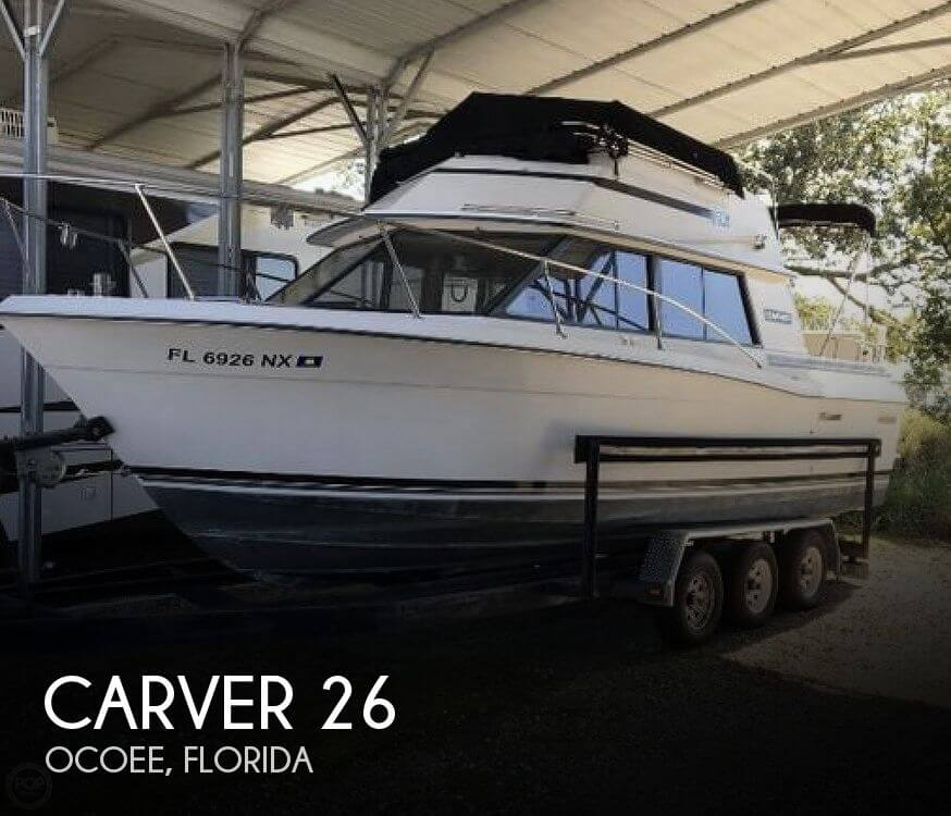 Used Fishing boats For Sale in Deltona, Florida by owner | 1986 Carver 26
