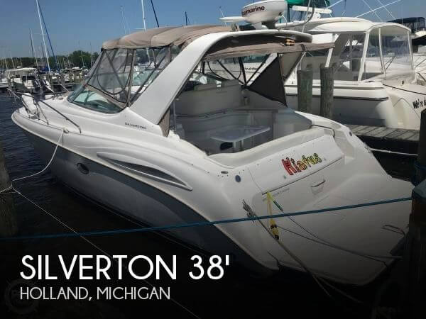 Used Boats For Sale in Grand Rapids, Michigan by owner | 1998 Silverton 38