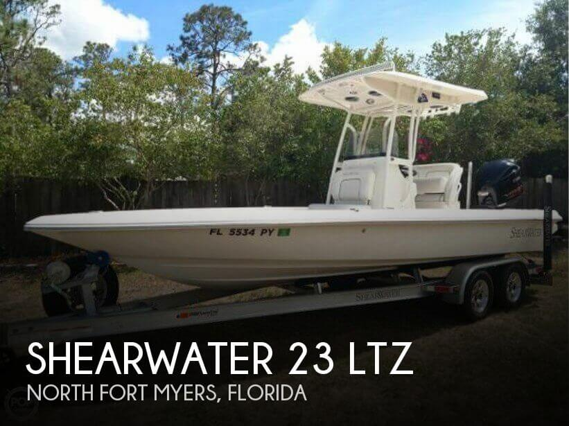 Used Ski Boats For Sale in Florida by owner   2015 Shearwater 22