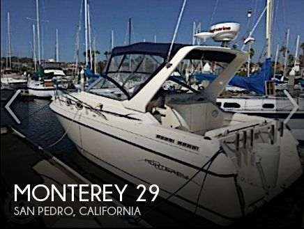 Used Monterey Boats For Sale in California by owner | 1999 Monterey 29