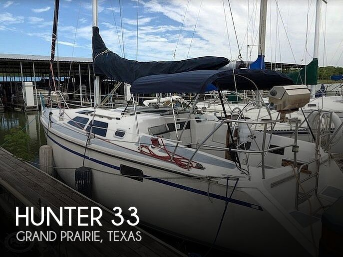 Used Hunter Sailboats For Sale in Texas by owner | 1989 Hunter 33