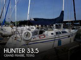 1989 Hunter 33.5