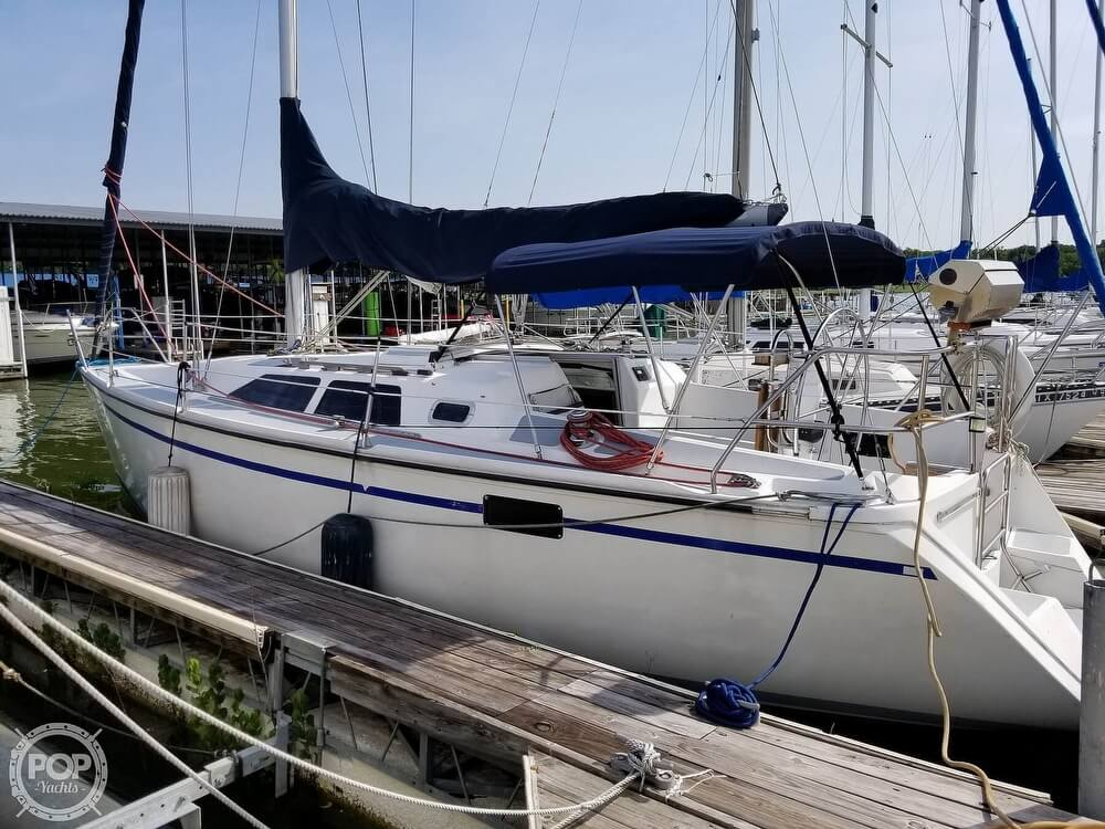 1989 Hunter boat for sale, model of the boat is 33.5 & Image # 2 of 40