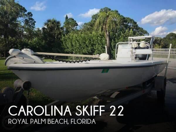 2002 CAROLINA SKIFF 22 for sale