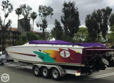 Cigarette Top Gun 38, 38', for sale