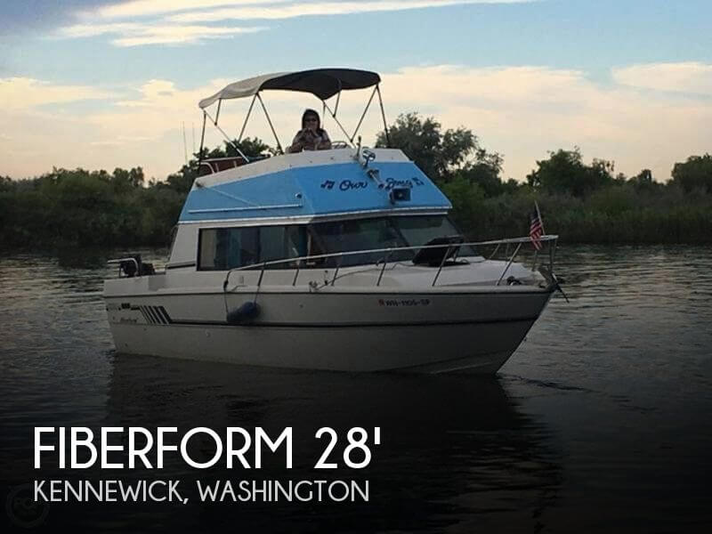 Used Boats For Sale in Kennewick, Washington by owner | 1977 Fiberform 28