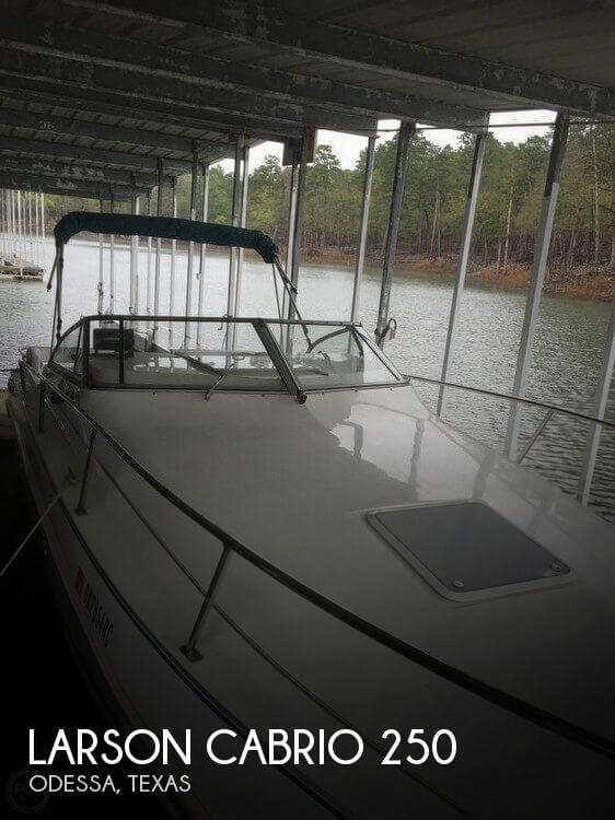 Used Boats For Sale in Midland, Texas by owner | 1994 Larson 25