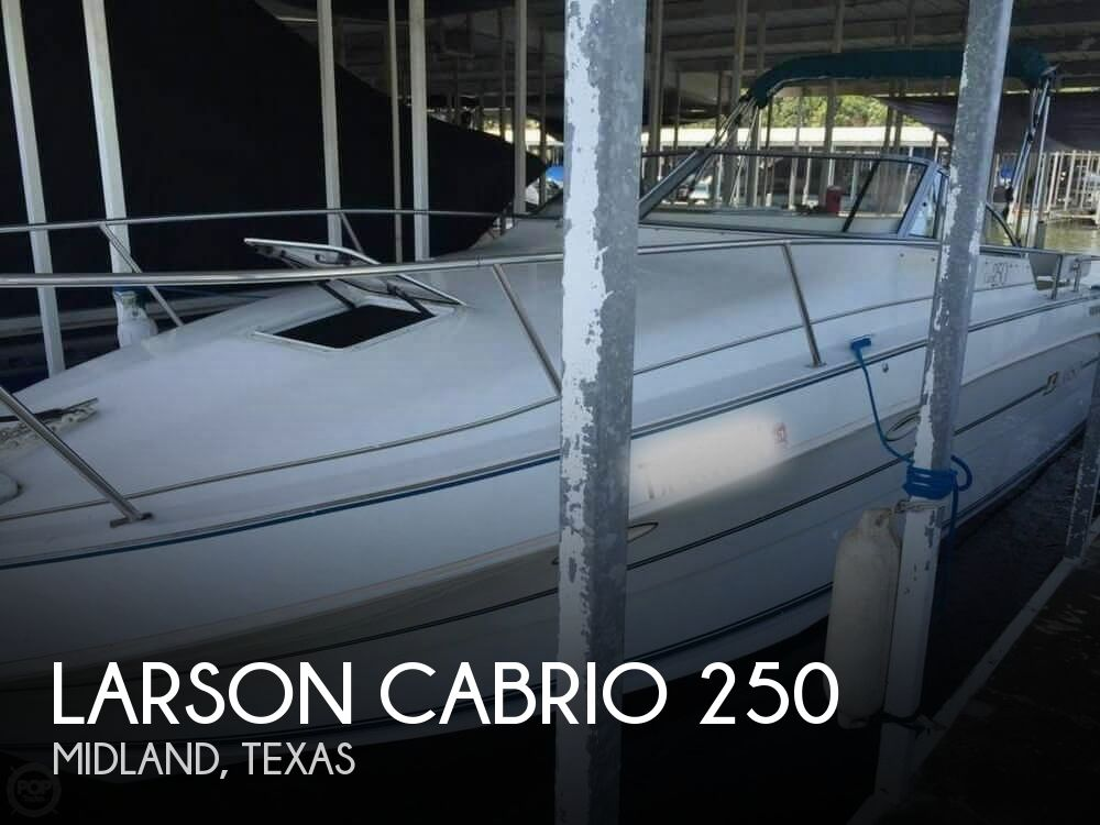 1994 Larson boat for sale, model of the boat is Cabrio 250 & Image # 1 of 11