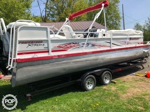Tritoon For Sale >> Sold Playcraft Xtreme 2600 Tritoon Boat In Massena Ny 154469