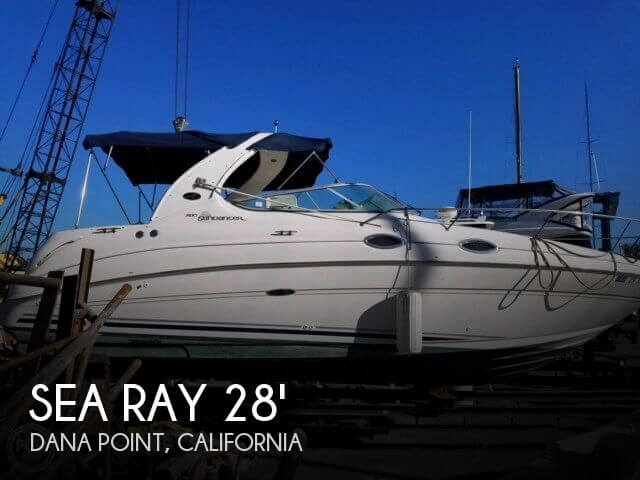 Used Sea Ray Boats For Sale in California by owner | 2004 Sea Ray 31