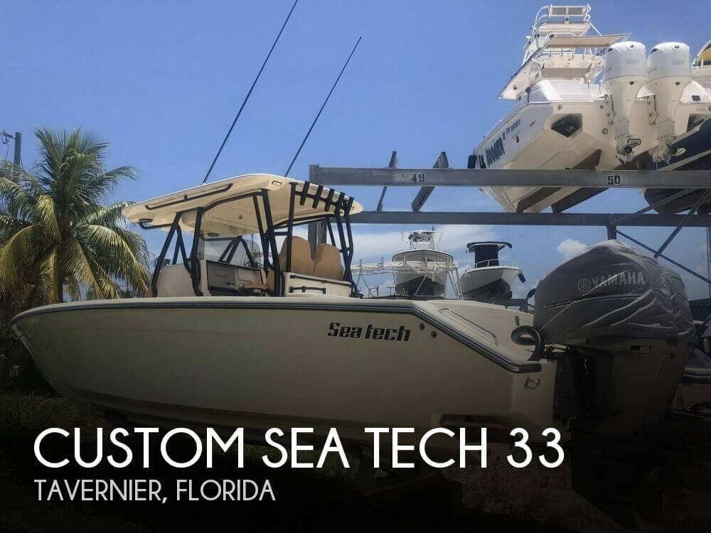 Used Boats For Sale in Miami, Florida by owner | 2017 Custom Sea Tech 33 33