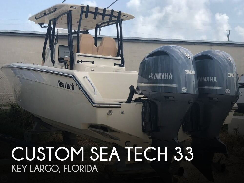 2017 Custom Sea Tech 33