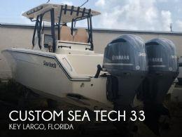 2017 Custom Sea Tech 33