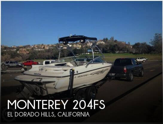 Used Monterey Boats For Sale in California by owner | 2011 Monterey 22