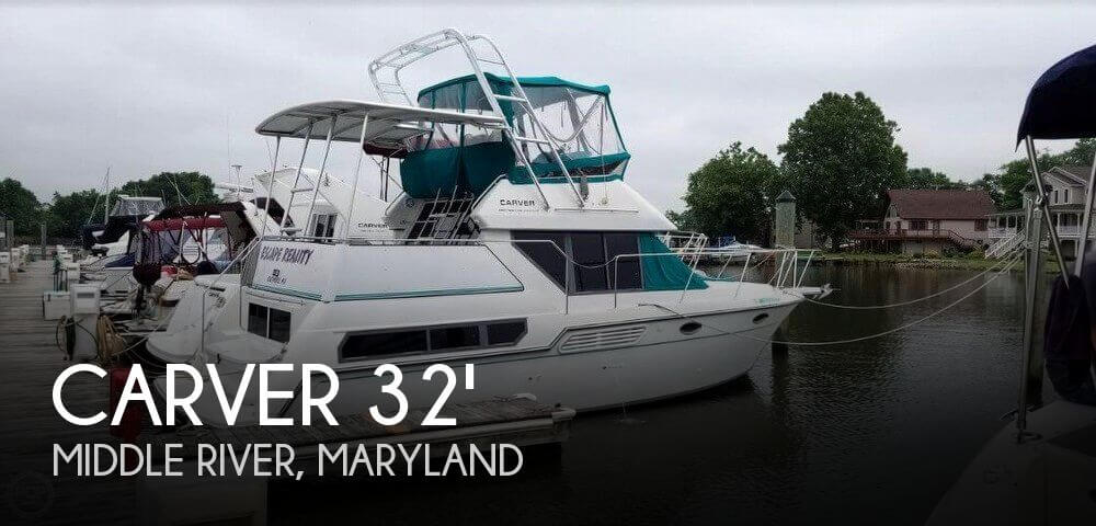 Used Carver 32 Boats For Sale by owner | 1995 Carver 325 Aft Cabin