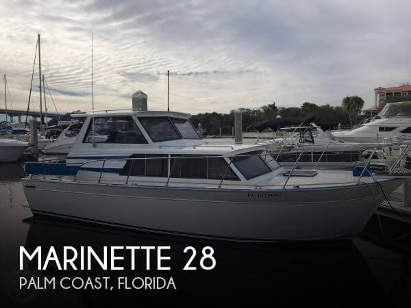 Used Marinette Boats For Sale by owner | 1988 Marinette 28
