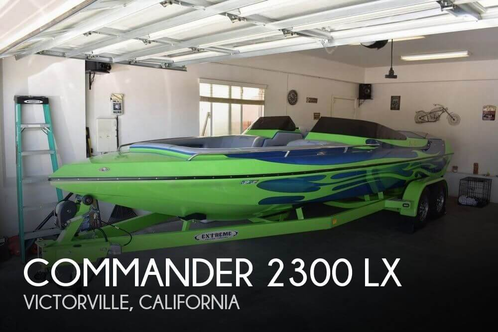 2016 Commander boat for sale, model of the boat is 2300 LX & Image # 1 of 40