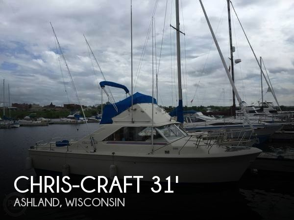 Used Boats For Sale in Duluth, Minnesota by owner | 1972 Chris-Craft 31