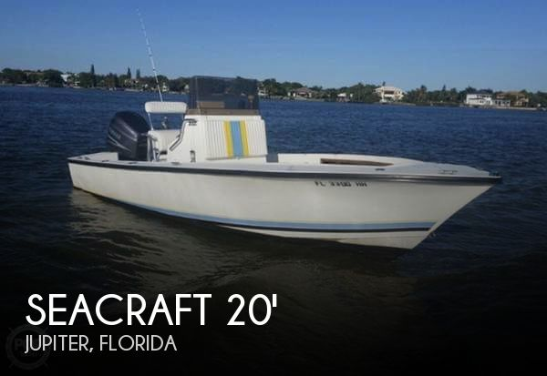 Used SEACRAFT Boats For Sale by owner   1989 SeaCraft 20