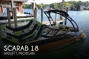 Used Boats For Sale in Kalamazoo, Michigan by owner | 2015 Scarab 18