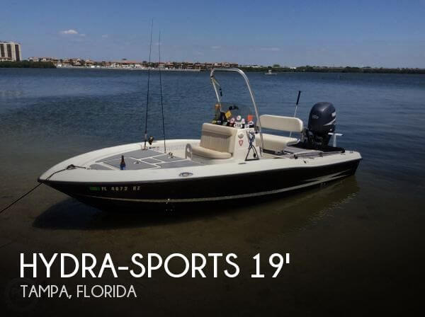 Used Hydra-Sports Boats For Sale by owner | 2008 Hydra-Sports 1900 Bay Bolt