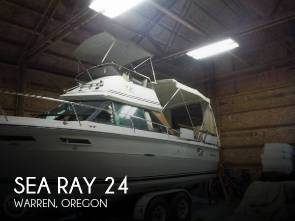 Used Boats For Sale in Kennewick, Washington by owner | 1977 Sea Ray 24
