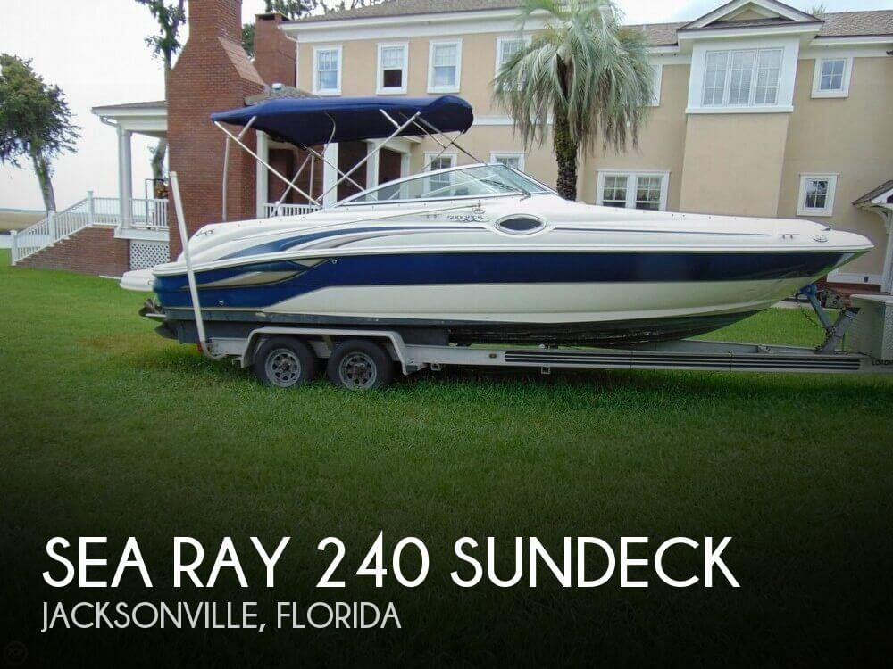 Used Sea Ray 240 sundeck Boats For Sale by owner | 2003 Sea Ray 240 Sundeck