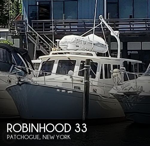 Used Boats For Sale in Bridgeport, Connecticut by owner | 1998 Robinhood 33