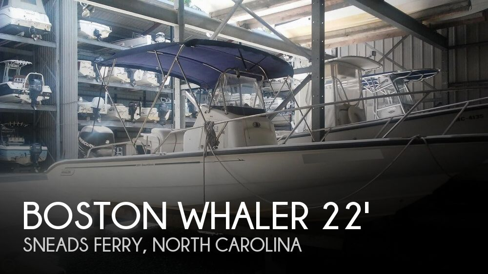 2006 Boston Whaler boat for sale, model of the boat is 220 Dauntless & Image # 1 of 40